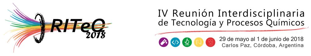 IV Reunión Interdisciplinaria de Tecnología y Procesos Químicos